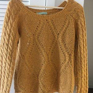 Maurice's Mustard Sweater